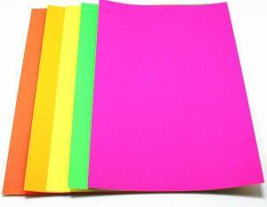 Цветна хартия DA , A4, 500л, NEON YELLOW